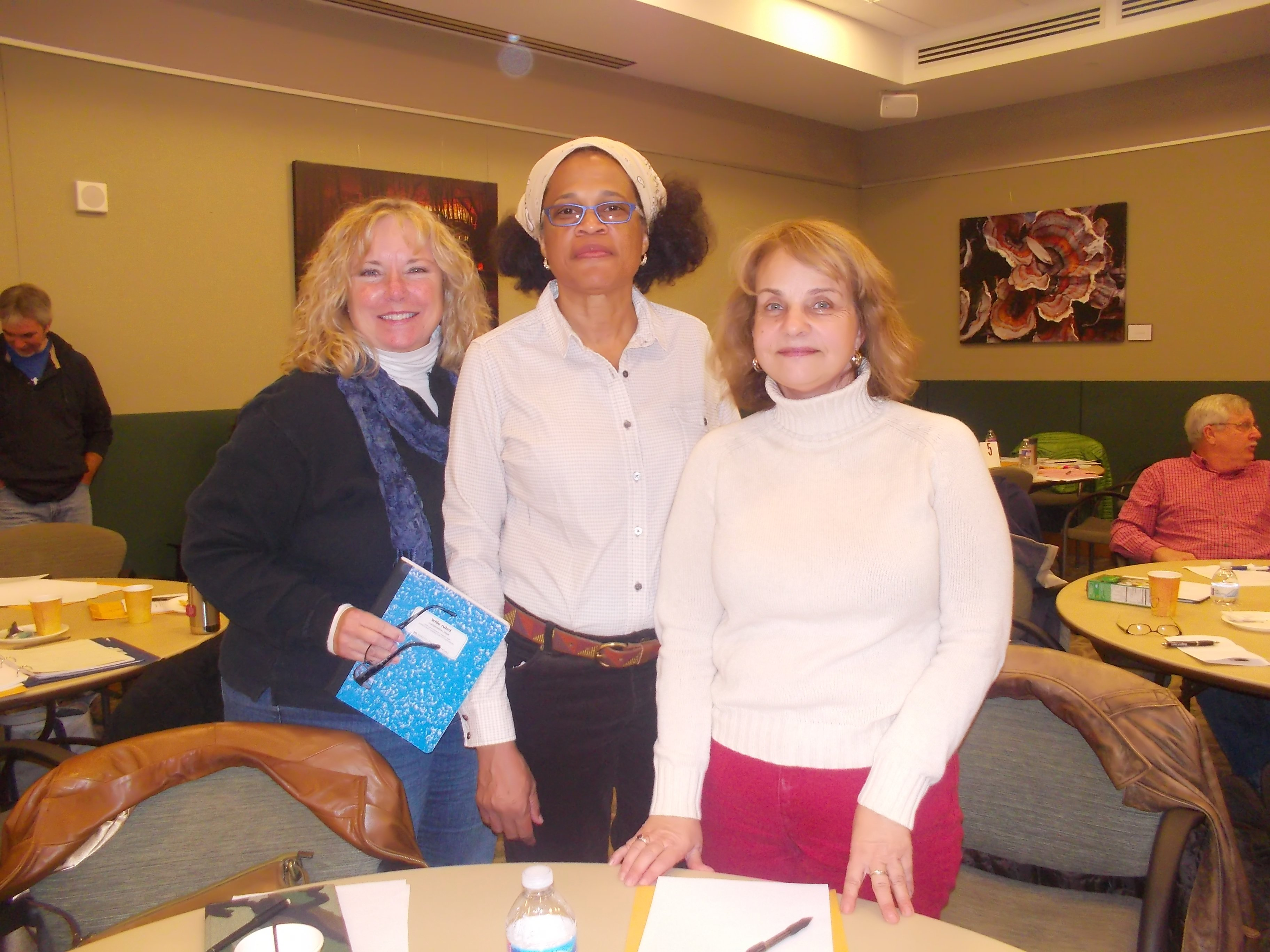 CWA members during TIC training at the Robinson Nature Center in Columbia, MD