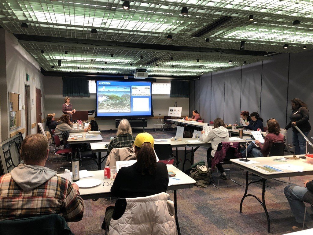 CWA- PPTU Joint Fly Fishing Clinic, Patuxent Wildlife Refuge, Laurel, MD, March 2019