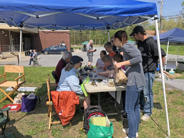 Tying Flies, USGS Earth Day